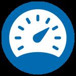 Speedometer graphic